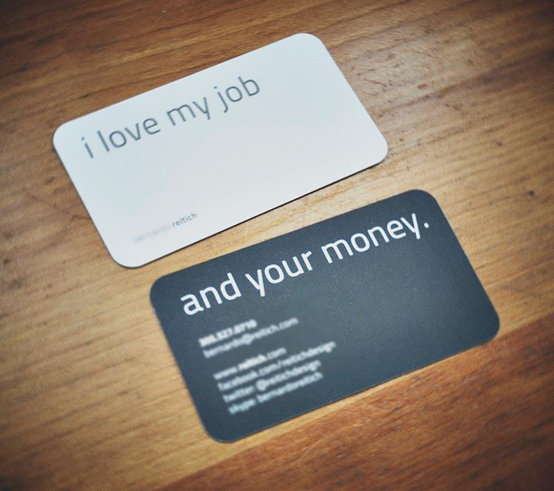 Our Business Card & Motto