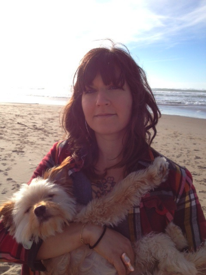 Me and Frannie in Manzanita.jpg
