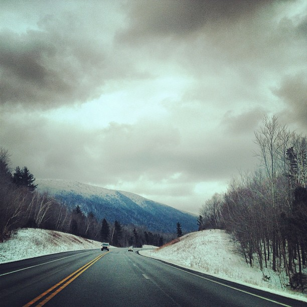 Driving home from Vermont