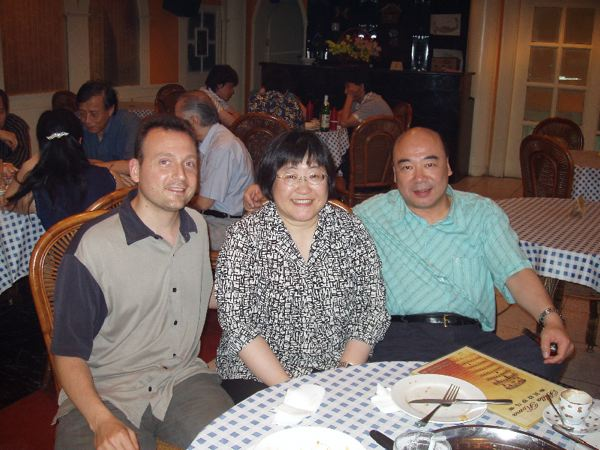 in Beijing with Chen Yi and Zhou Long
