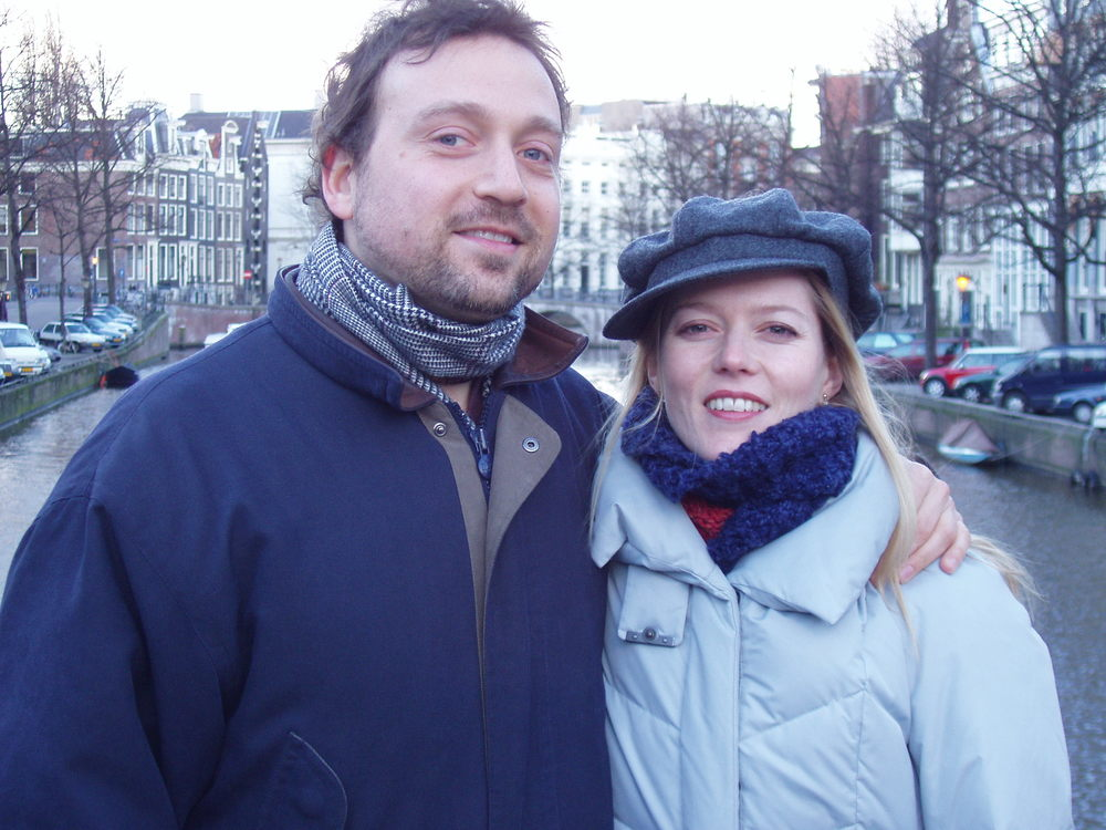 with Barbara Hannigan in Rotterdam