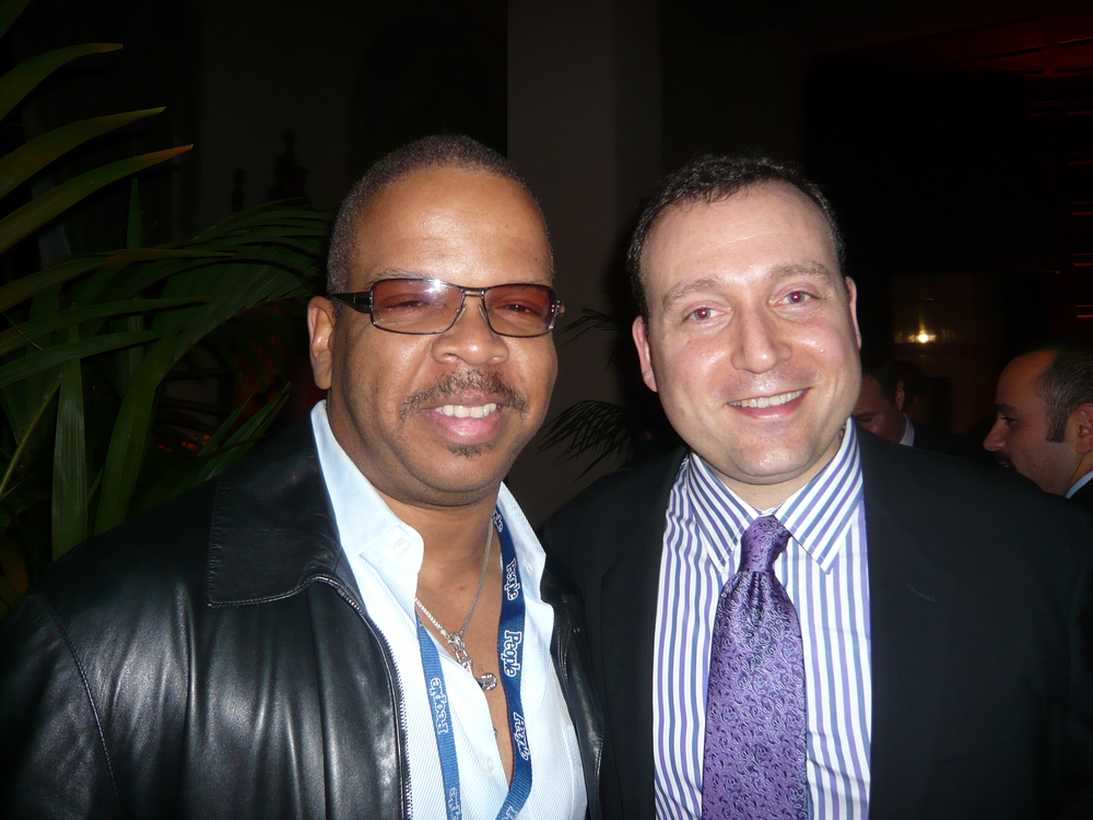 with Terence Blanchard at the Grammy Awards