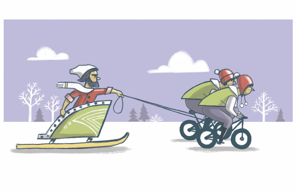 """Ride out"" the Winter in a totally new way!"