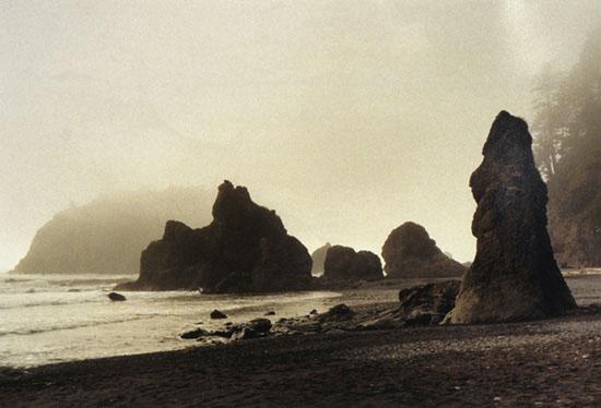 Sepia Rocks