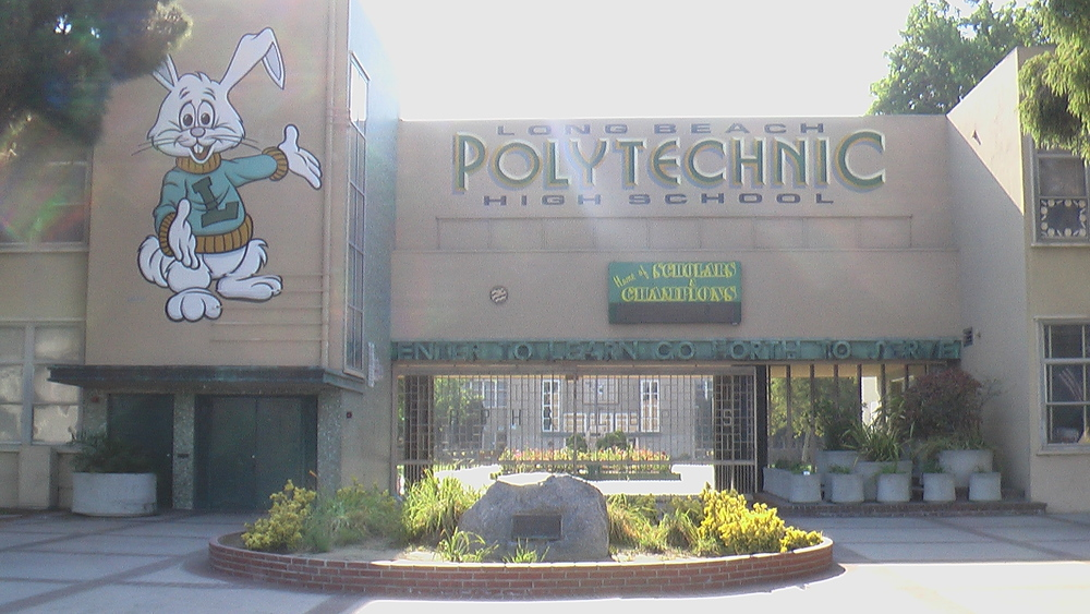 "Long Beach Poly is considered by some the state's top athletic program of the past century.  The California Coaches Association officially gave Poly the title ""School of the Century"", see the mural on the photo below."