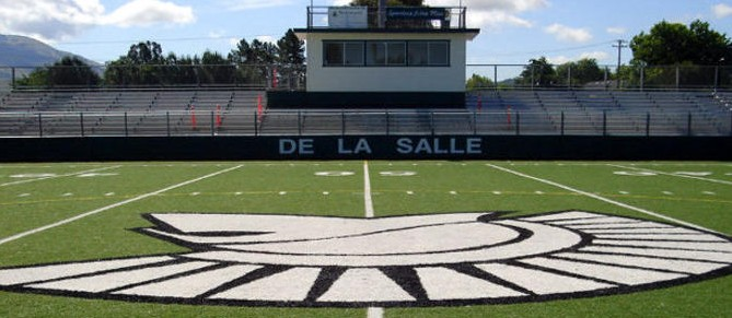 The home field of the De La Salle Spartans