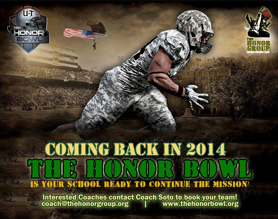 The Honor Bowl is looking to expand in 2014