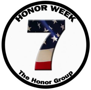 There is also an Honor Week during week # 7 of the season