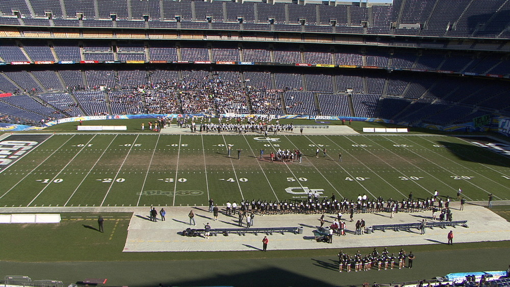 2011 Division IV championship coin toss, Valley Center vs. Santana
