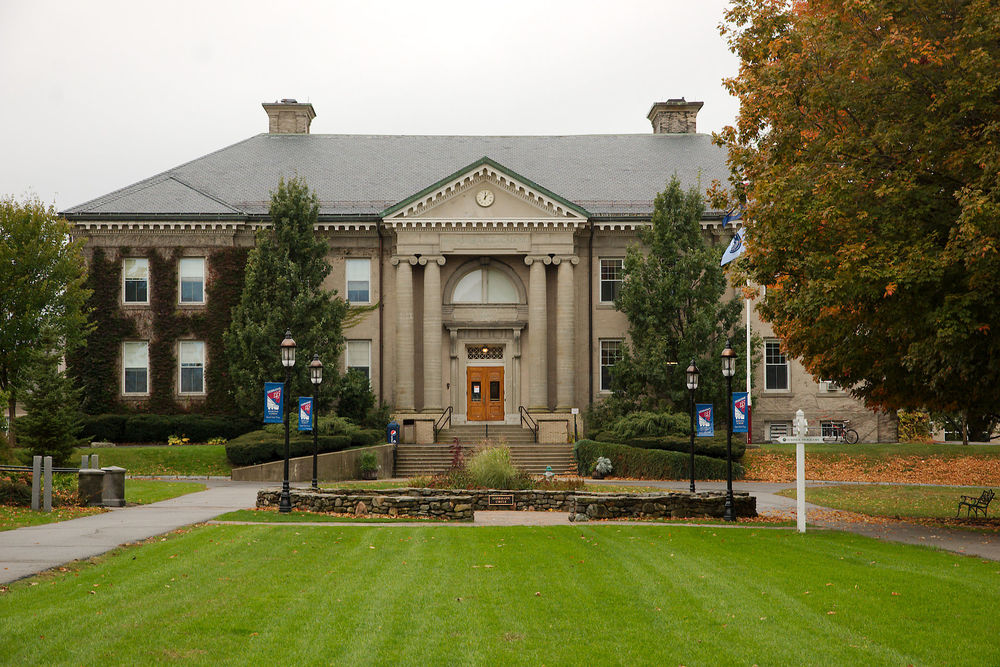 Brewster academic building where most classes are held