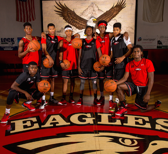 The Eagles are looking to soar onto the national stage.