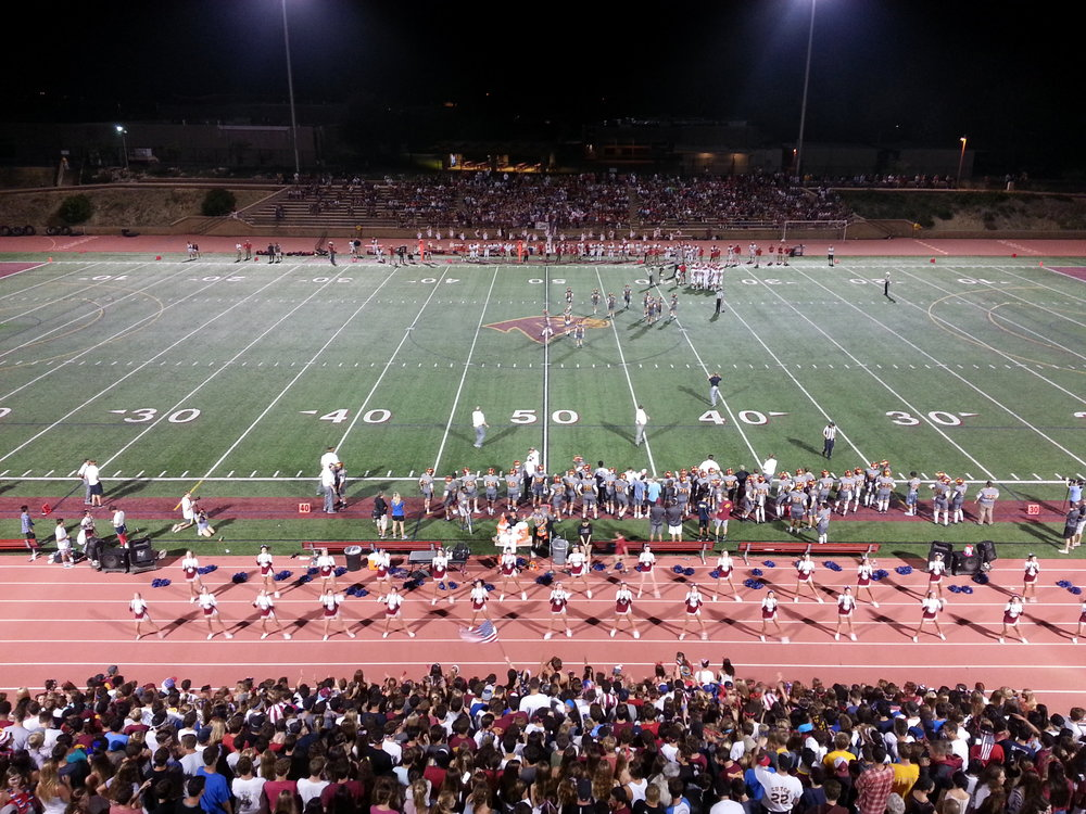 The Battle of Del Mar Heights Road, Cathedral at Torrey Pines in 2015, Dons won 28-14