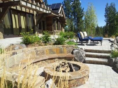 lake tahoe backyard space