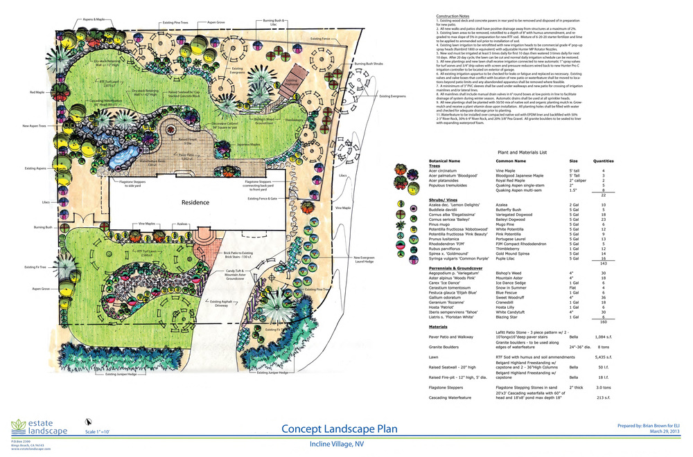 incline village landscape design