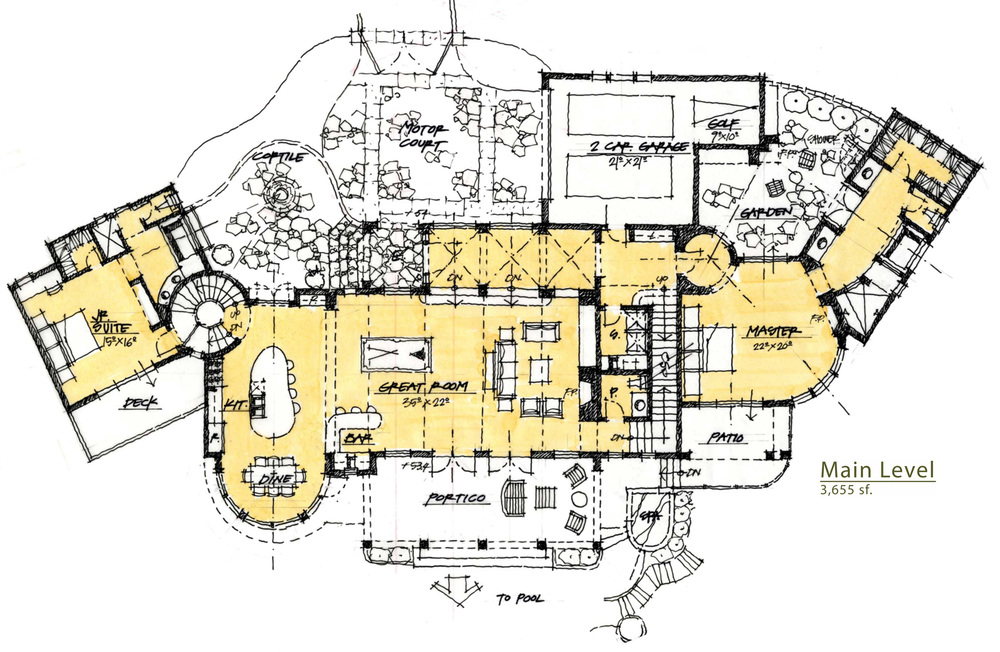 schematic floor plan