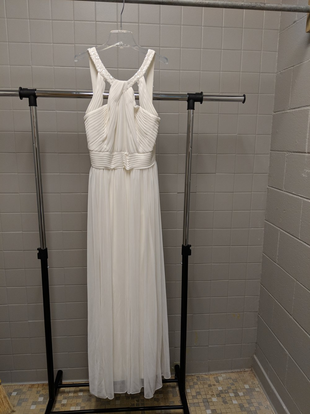 Dress 8 - Alex Evenings, Size 12. Approximately 62 inches long.