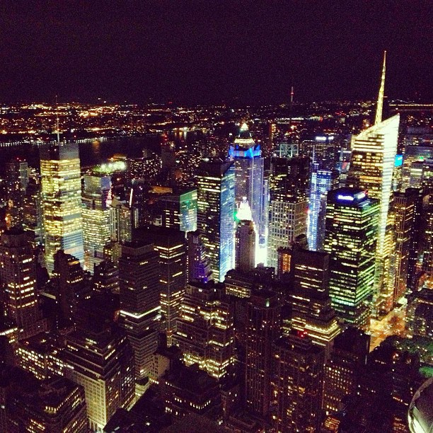 View From the Empire State Building 2013