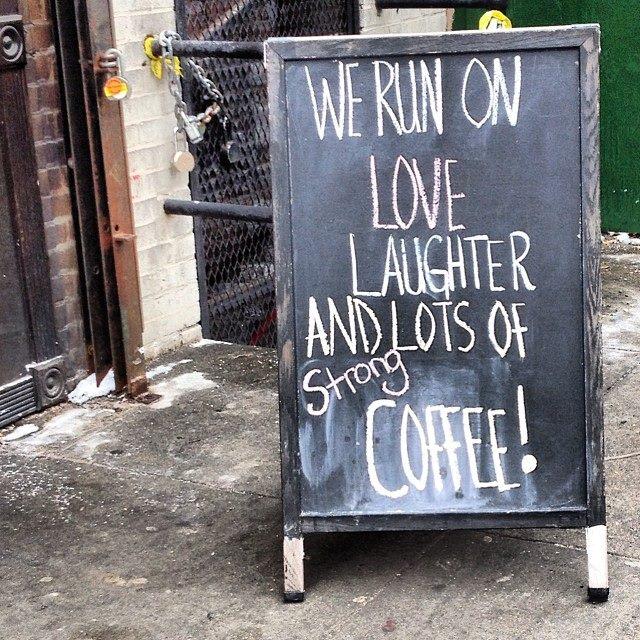 Coffee Shop, Brooklyn, 2013