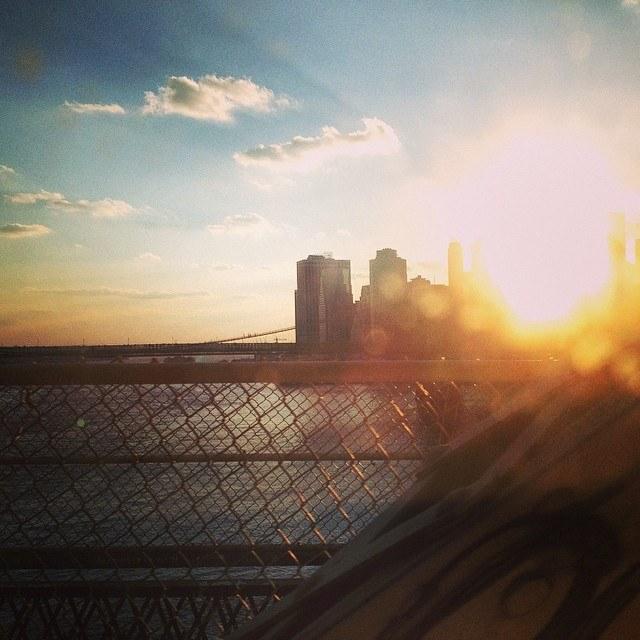 View from Manhattan Bridge, 2014