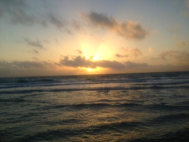 Morning Run Along Florida Coast. Photo Credit: Dominic Aloia
