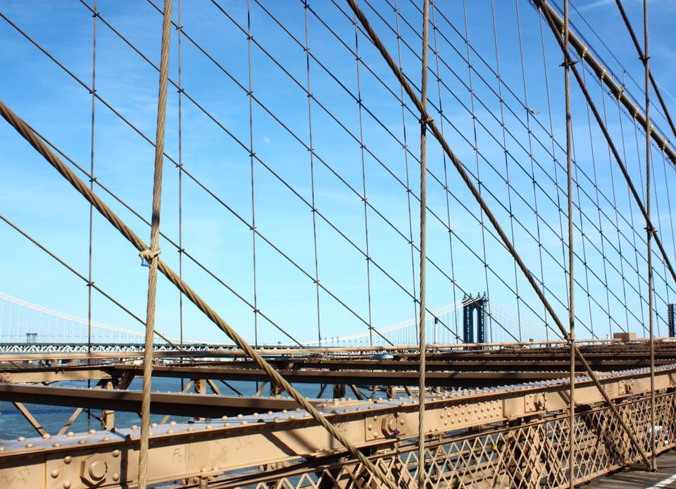 Manhattan Bridge From Brooklyn Bridge