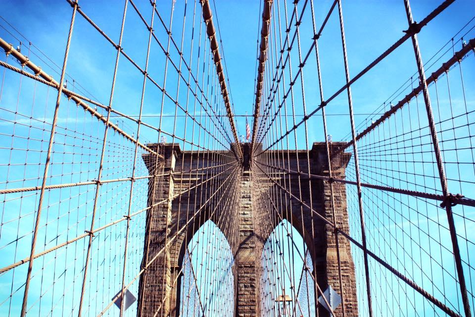 Crossing the Brooklyn Bridge