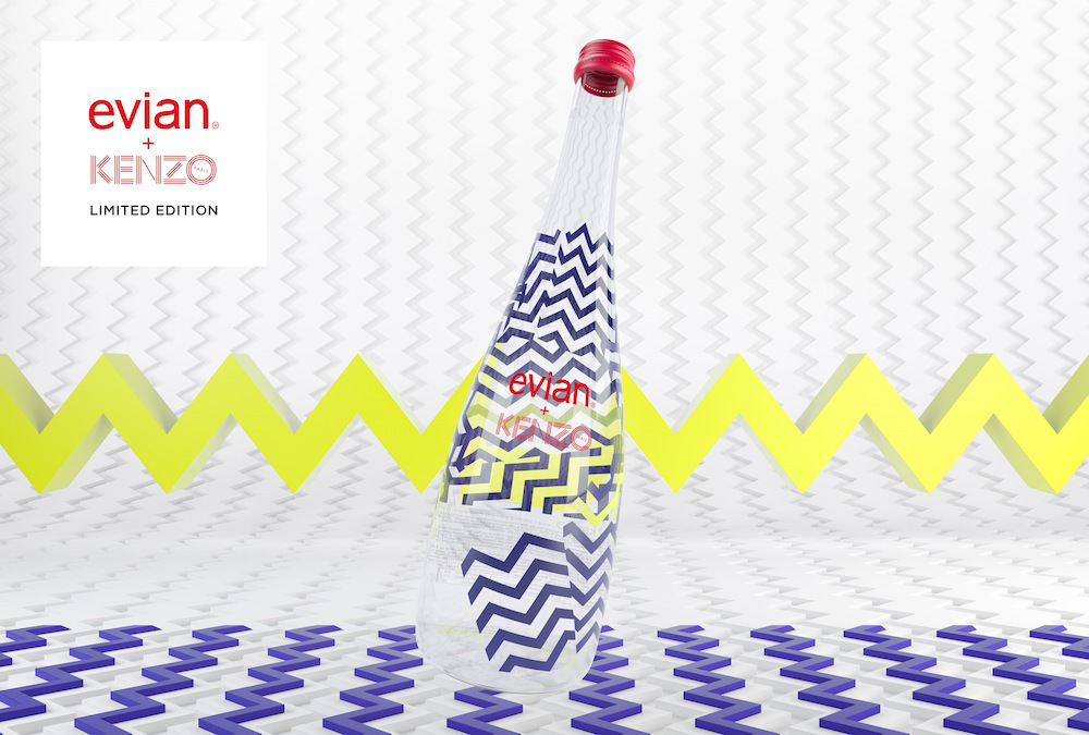 The design for the limited edition glass bottles. Click or tap to enlarge.