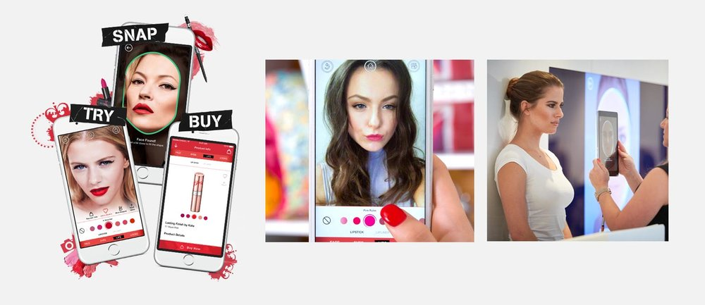 The Get The Look app from Rimmel UK
