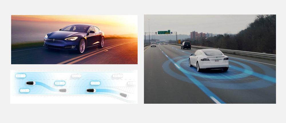Tesla's Autopilot feature makes its cars fully autonomous.