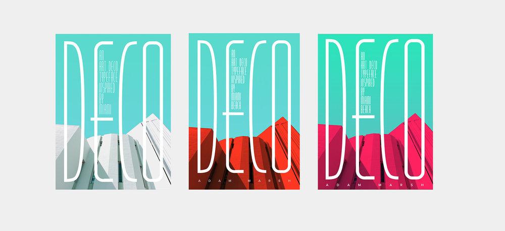 Art Deco Buildings Posters