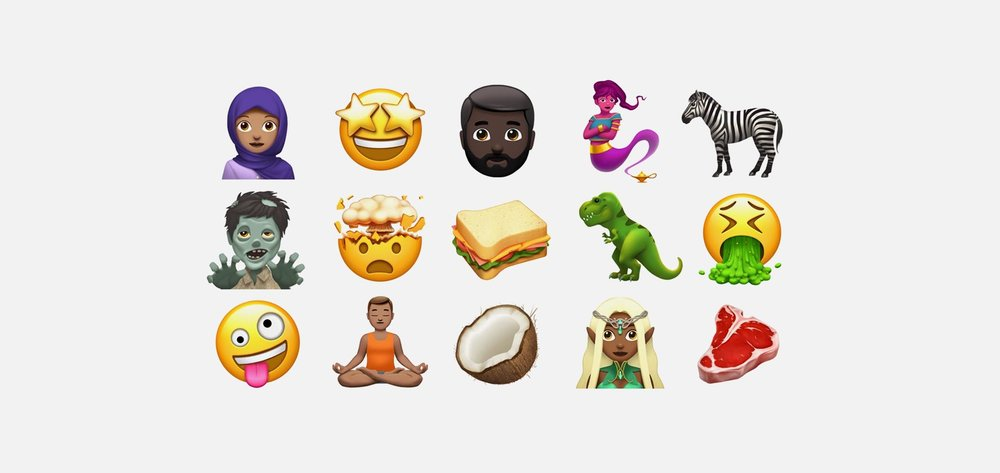 These new emojis took up to 3 years to get approved.