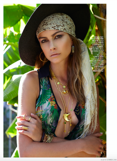 JUTE MAGAZINE SUMMER 2016 | TIGER CLAW NECKLACE