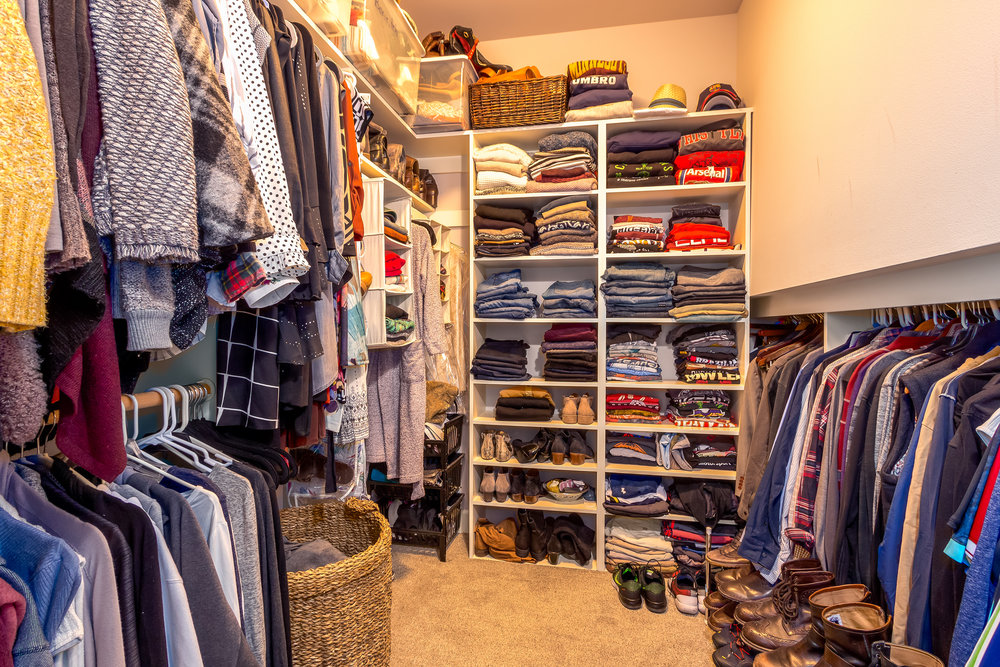 An organized closet is a happy closet.