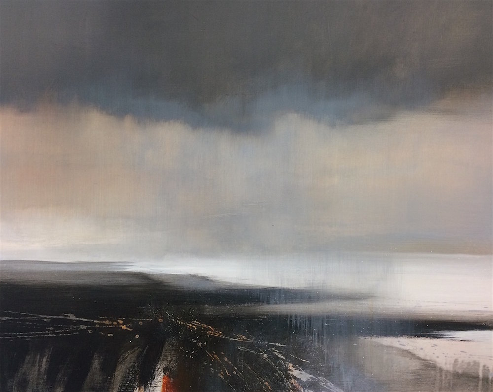 Towards the Silver sea - 100x80cm