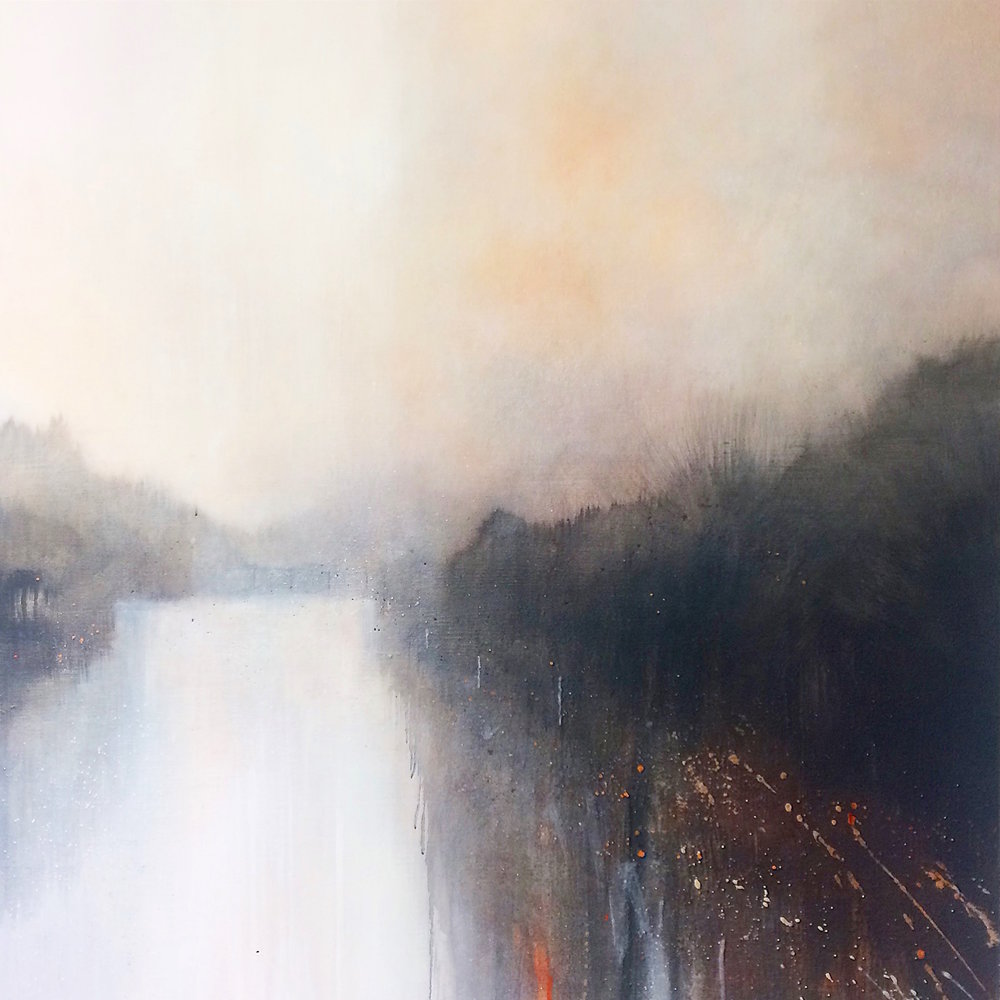 White River 1 100x100cm  #felicitykeefe #felicity keefe  #felicitykeefeart #felicity keefe art  #felicitykeefeartist  #felicity keefe artist  #felicitykeefepaintings #felicity keefe paintings