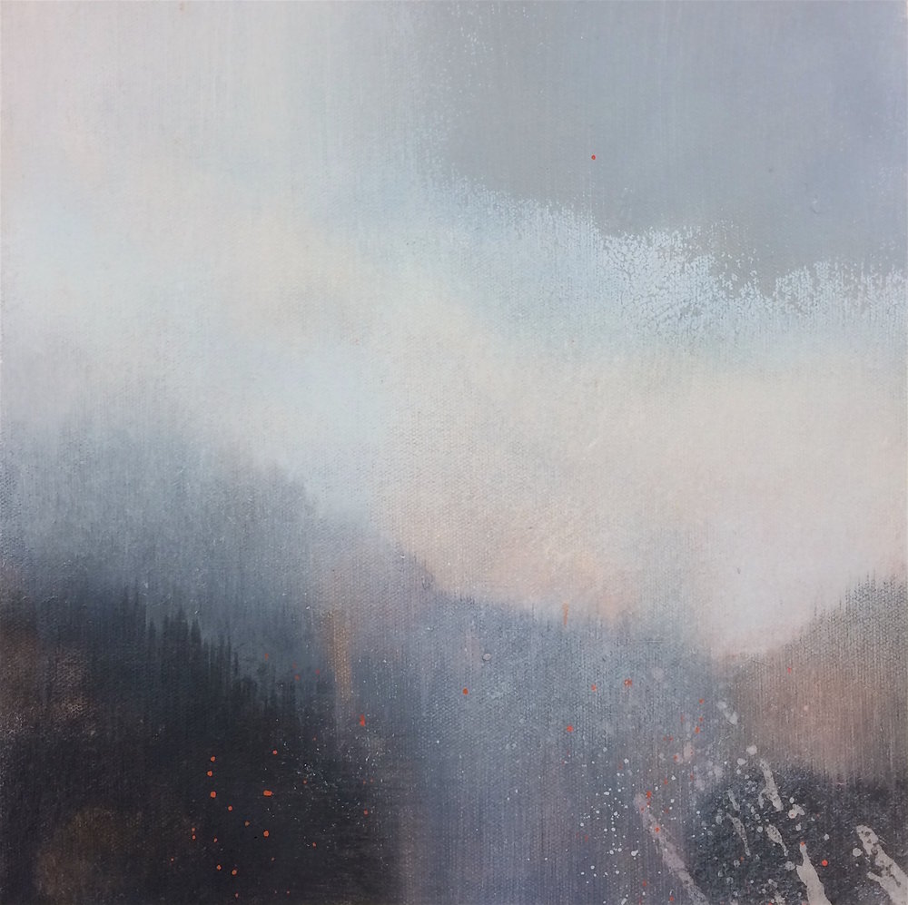 The Clearing Mists - 30x30cm