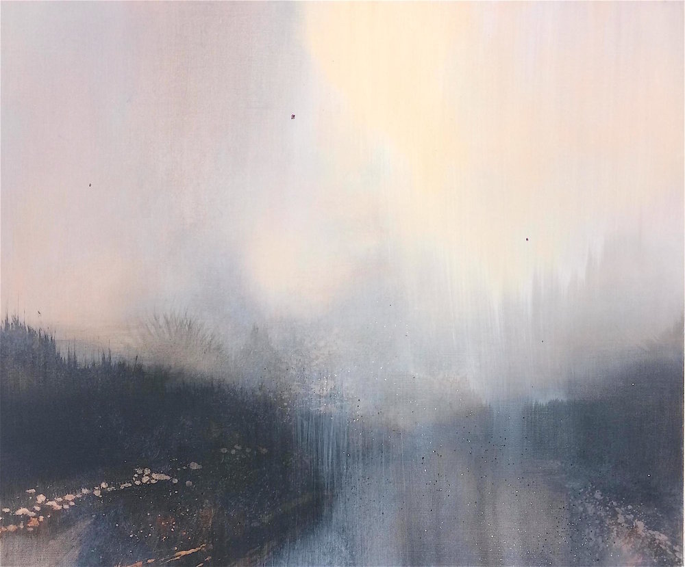 THE PARTING OF CLOUDS 60x50cm