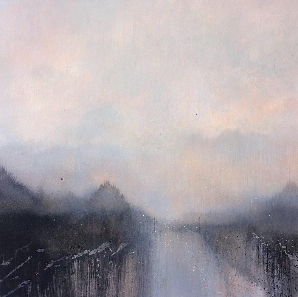 The Silent Mist 50x50cm