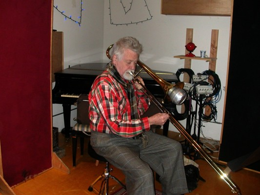 Roswell Rudd on Trombone