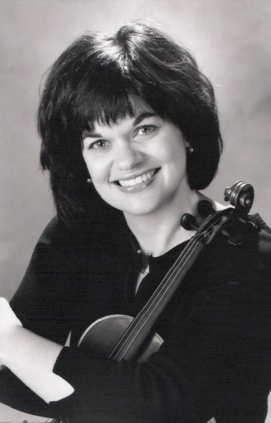 Catherine French, violin