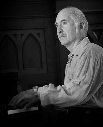 Hayg Boyadjian, composer Photograph by Andrea Joliat