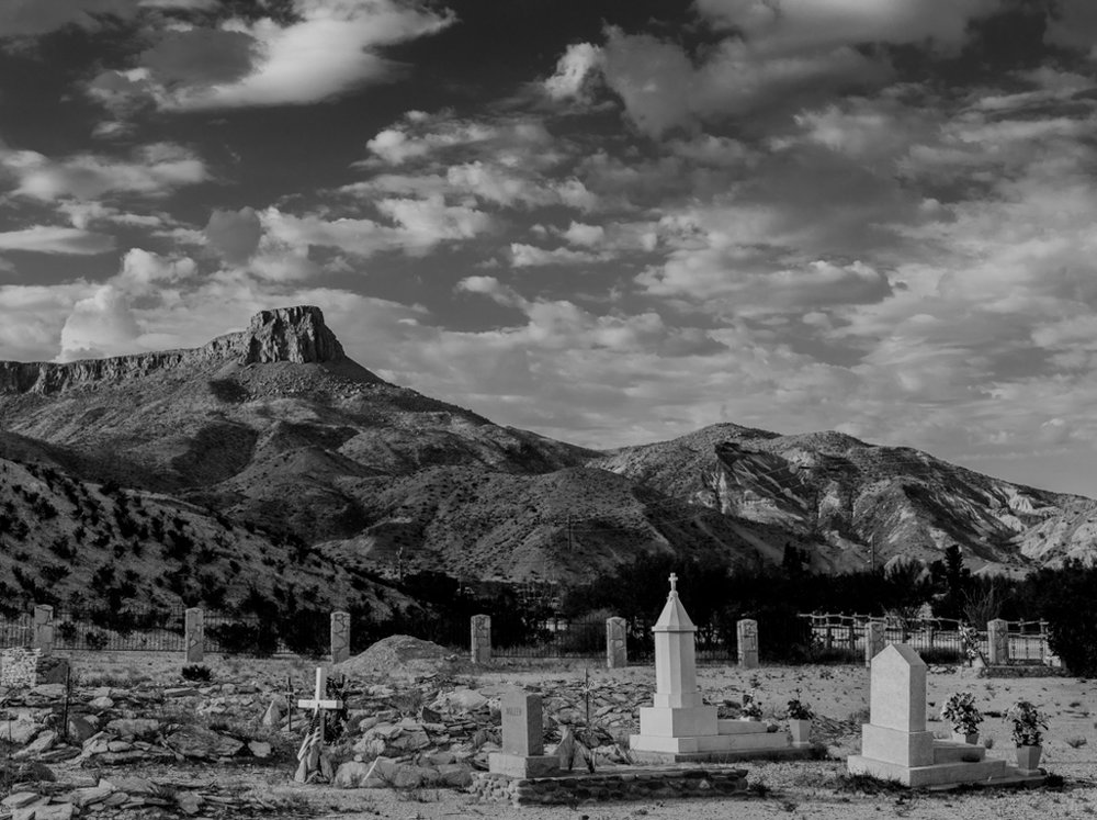Cemetary at Lajitas