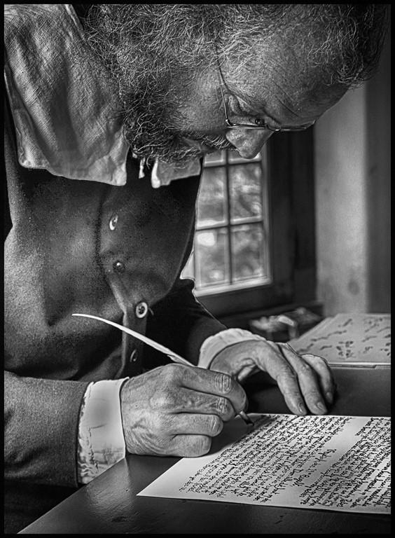 Quill Pen Scribe, Bob Bozarth, Oklahoma CC 1st HM
