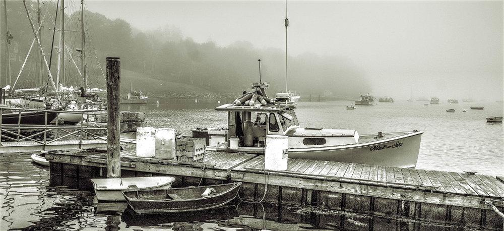 Lobster Boat, Tom Oelsner, GNOCC, 2nd Place