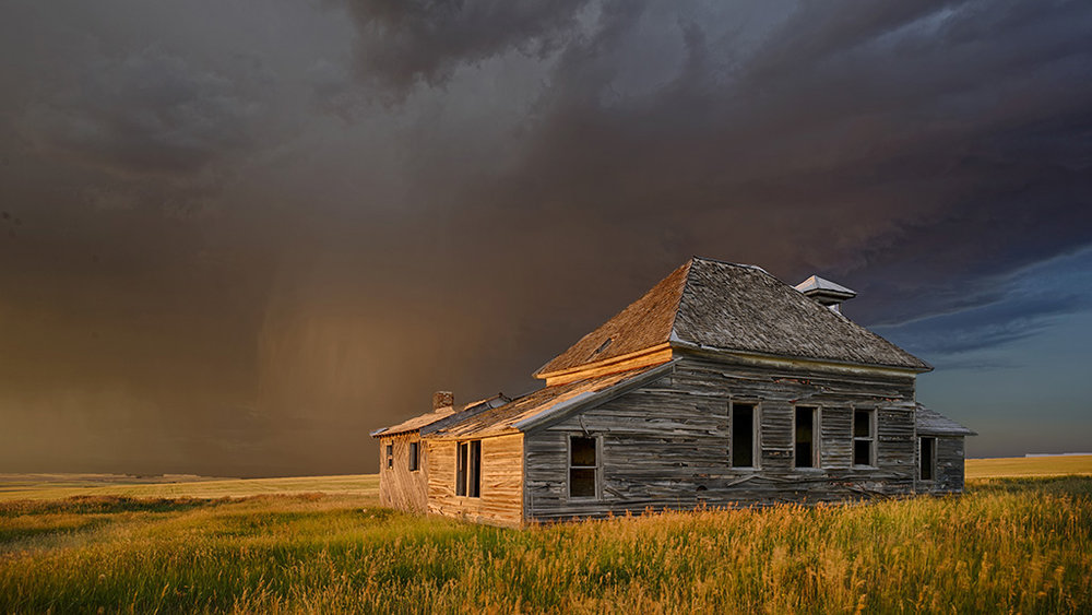 School House Storm #2,Vic Prislipsky,National Park Photography Club,2nd Place,Color Projected