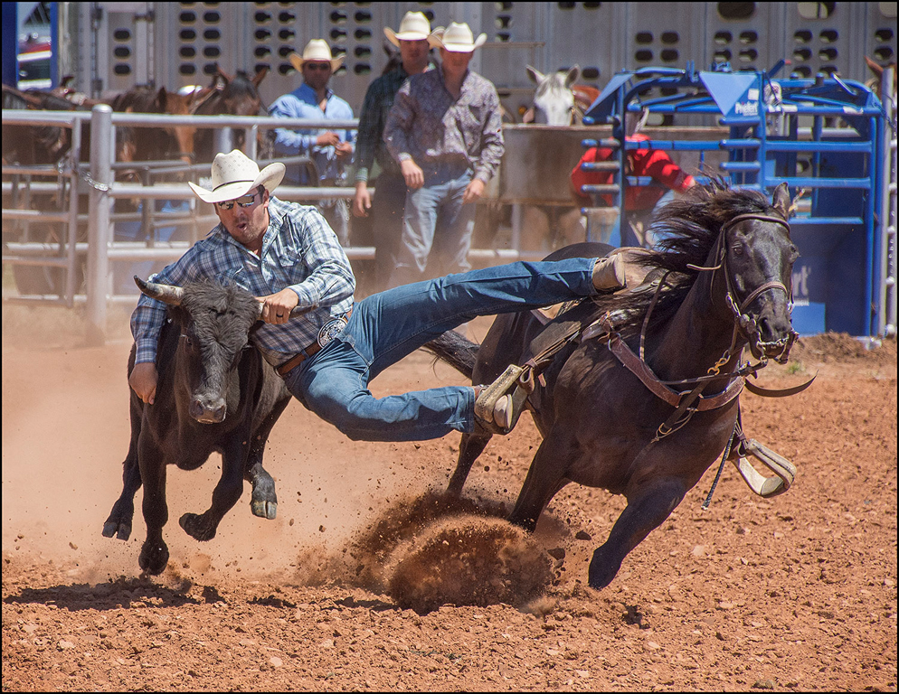 One Stirrup To Go,Tom McCreary,	Oklahoma Camera Club,2nd HM,PJ Prints