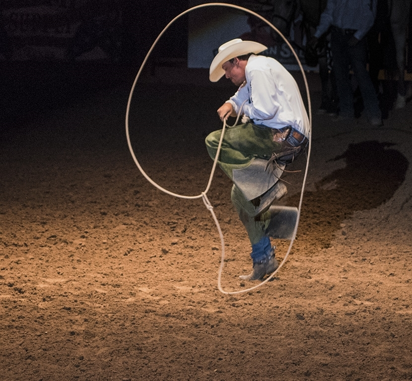 Roped Into A Moment In Time, Tom Bush, Louisiana PS, 2nd