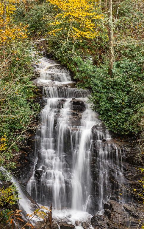 Soco Falls, Platform View, Lois Overturf, Cowtown CC, 1st