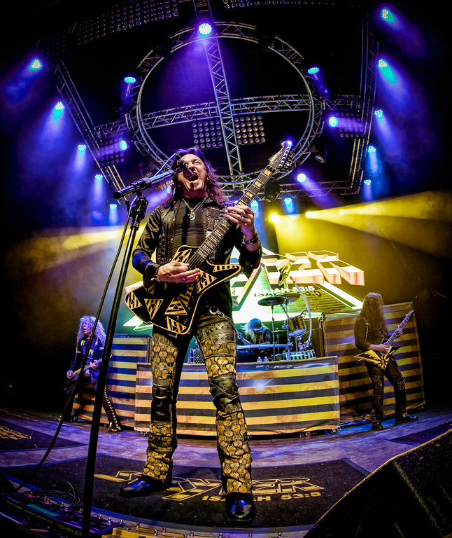 Stryper at the Gas Monkey Live, Chad Fenner, Cowtown CC, 1st Place