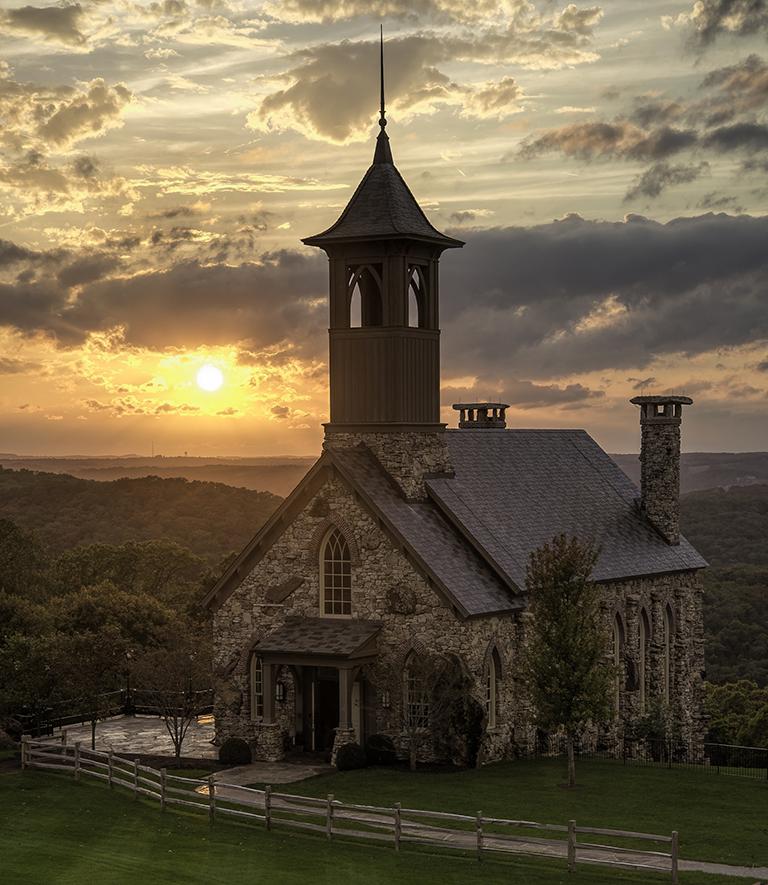 Chapel at Top of the Rock, Debbie Burkheiser, Lafayette PS, 1st Place